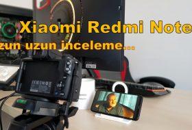 Xiaomi Redmi Note 8 İncelemesi