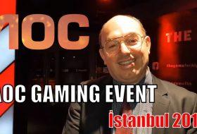 AOC Gaming Davetindeydik